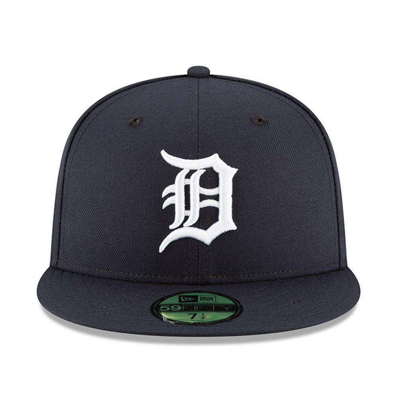 Detroit Tigers New Era Home AC On-Field 59FIFTY Fitted Hat - Navy