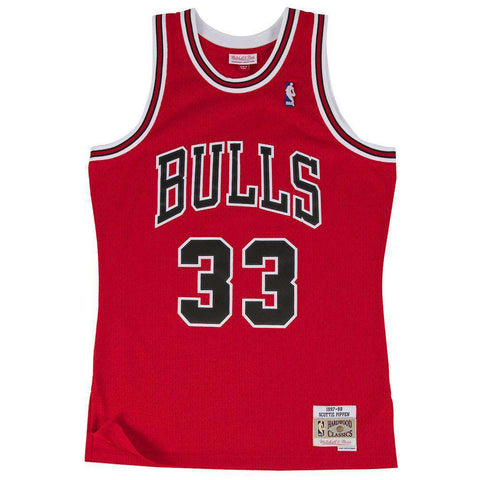 Scottie Pippen Chicago Bulls Mitchell & Ness NBA Swingman Jersey - Red