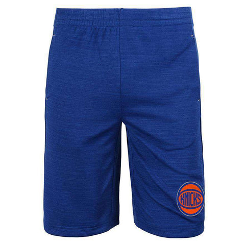 Youths New York Knicks NBA Free Throw Shorts - Blue