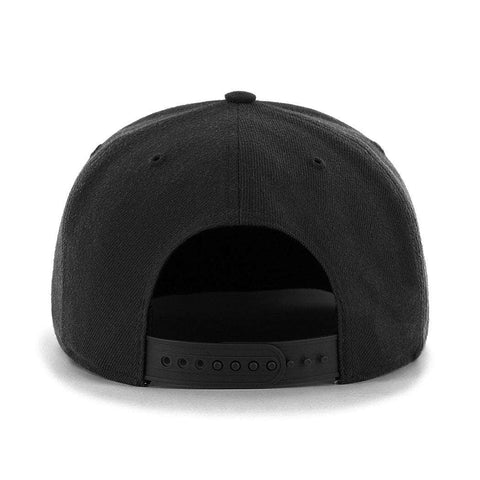Vegas Golden Knights '47 NHL Audible Pre-Curved Snapback Hat - Black