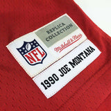 Joe Montana San Francisco 49ers Mitchell & Ness Throwback NFL Jersey - Red