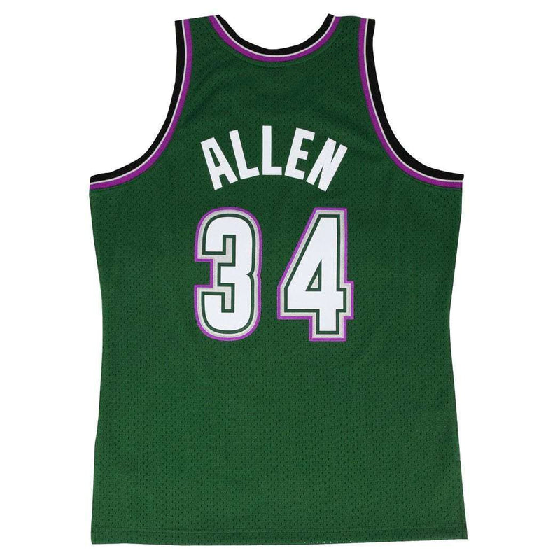 Ray Allen Milwaukee Bucks Mitchell & Ness NBA Swingman Jersey - Geen