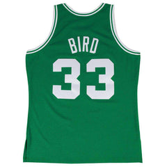 Larry Bird Boston Celtics Mitchell & Ness NBA Swingman Jersey - Green