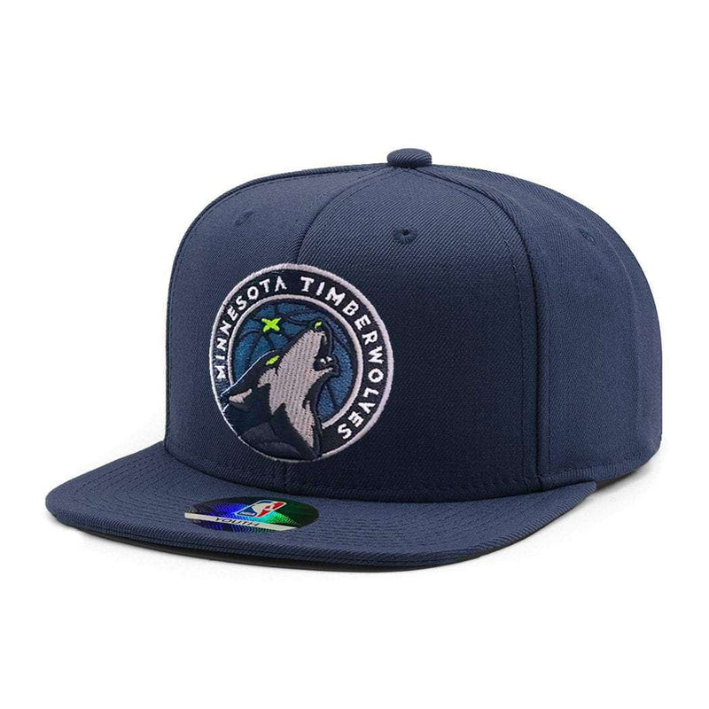 Youths Minnesota Timberwolves Outerstuff Team NBA Snapback Hat - Navy