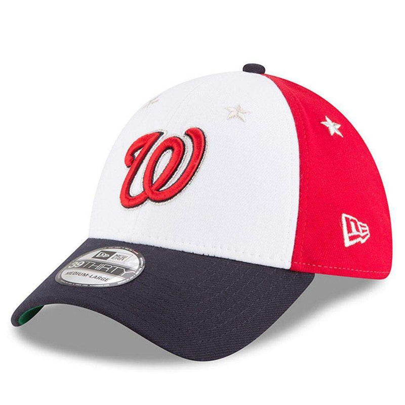 Washington Nationals New Era 2018 MLB All Star 39THIRTY Curved Hat