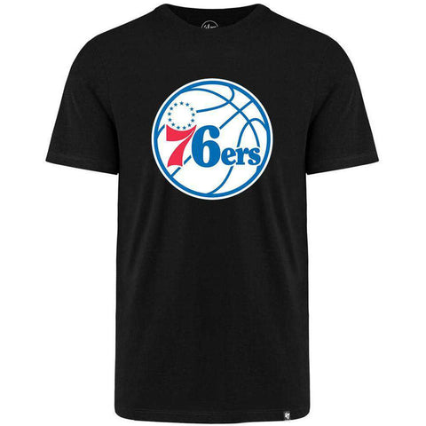 Philadelphia 76ers '47 NBA Team Logo MVP T-Shirt - Black