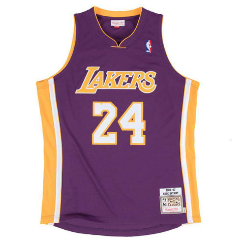 Kobe Bryant Los Angeles Lakers Mitchell & Ness NBA 06-07 Authentic Jersey - Purple