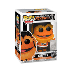 Gritty Philadelphia Flyers Funko NHL Mascot Pop Vinyl 01 Figure - Orange