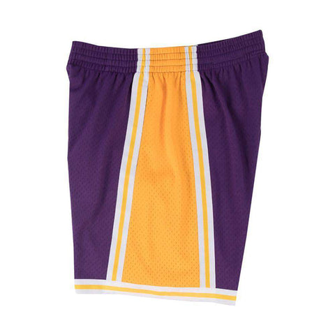 Los Angeles Lakers Mitchell & Ness NBA Swingman Shorts - Purple