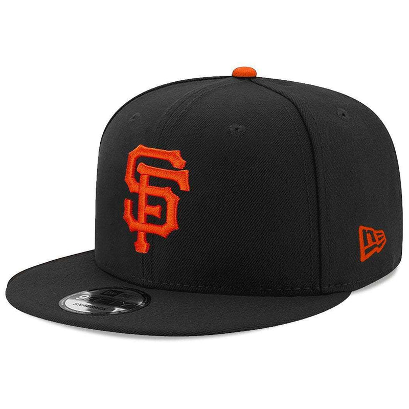 San Francisco Giants New Era MLB Team 9FIFTY Snapback Hat - Black