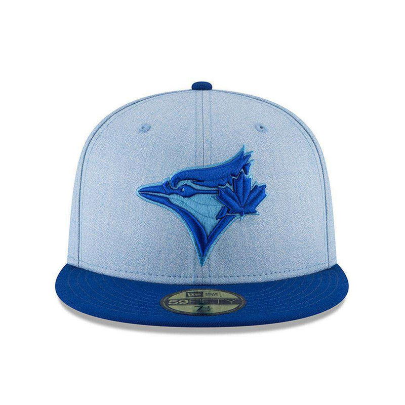 Toronto Blue Jays New Era MLB 2018 Fathers Day AC On-Field 59FIFTY Fitted Hat - Blue