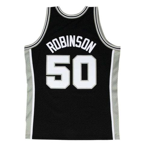 David Robinson San Antonio Spurs Mitchell & Ness NBA Swingman Jersey - Black