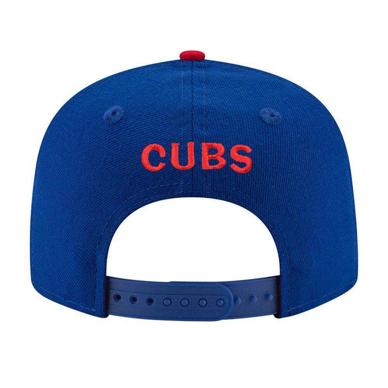 Chicago Cubs New Era MLB Team Pre-Curved 9FIFTY Snapback Hat - Blue