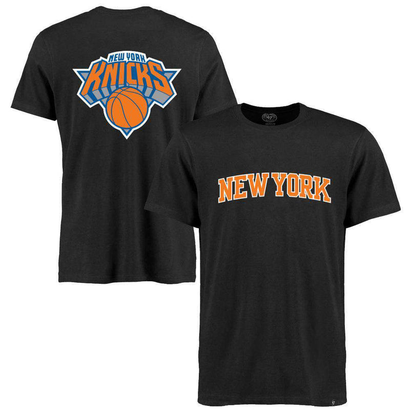 New York Knicks '47 NBA Splitter T-Shirt - Black