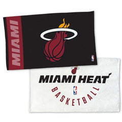 Miami Heat Wincraft NBA Authentic On-Court Bench Locker Room Towel