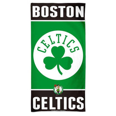 "Boston Celtics Wincraft NBA 30"" x 60"" Fiber Beach Towel"