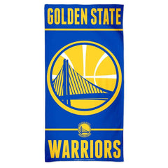 "Golden State Warriors Wincraft NBA 30"" x 60"" Fiber Beach Towel"