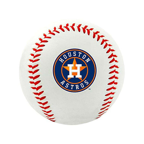 Houston Astros Rawlings MLB Team Logo Baseball Ball