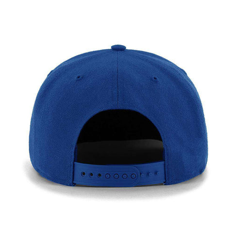 New York Rangers '47 NHL Audible DB Pre-Curved Snapback Hat - Blue