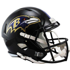 Baltimore Ravens Riddell NFL Full-Size Speed Replica Helmet - Black