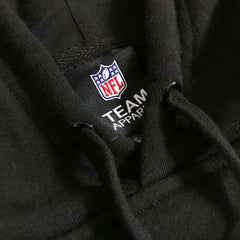 Oakland Raiders Majestic NFL Team Gamily Hoodie Jumper - Black