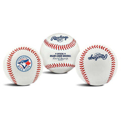 Toronto Blue Jays Rawlings MLB Team Logo Baseball Ball