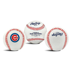 Chicago Cubs Rawlings MLB Team Logo Baseball Ball
