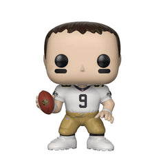 "Drew Brees New Orleans Saints NFL Funko Pop Vinyl 3.75"" Figure - White"