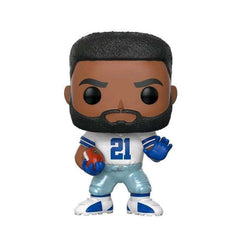 "Ezekiel Elliott Dallas Cowboys NFL Funko Pop Vinyl 3.75"" Figure - White"