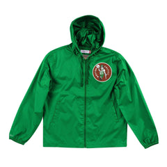 Boston Celtics Mitchell & Ness NBA Team Captain Windbreaker Jacket - Green