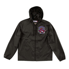 Toronto Raptors Mitchell & Ness NBA Team Captain Windbreaker Jacket - Black