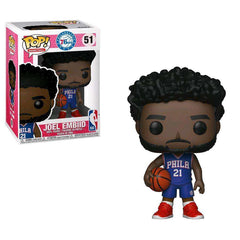 "Joel Embiid Philadelphia 76ers Funko NBA Pop 3.75"" Figure - Blue"