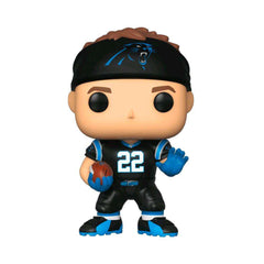 "Christian McCaffrey Carolina Panthers NFL Funko Pop Vinyl 3.75"" Figure - Black"