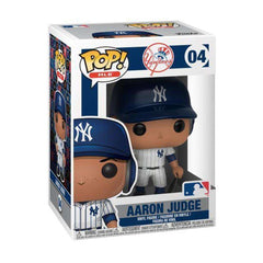 "Aaron Judge New York Yankees Funko MLB Pop Vinyl 3.75"" Figure - White"