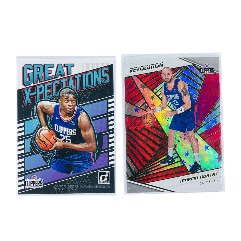 Los Angeles Clippers Panini NBA 2 Insert/Parallel Card Set