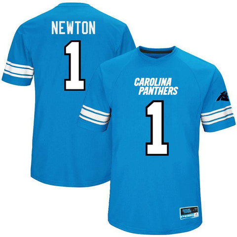 Cam Newton Carolina Panthers Majestic NFL Hashmark Replica Jersey - Blue