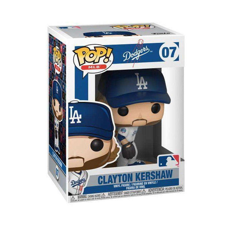 "Clayton Kershaw Los Angeles Dodgers Funko MLB Pop Vinyl 3.75"" Figure - White"
