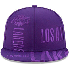 Los Angeles Lakers New Era NBA 2019 Tonal Tip-Off 9FIFTY Snapback Hat - Purple