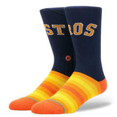 Houston Astros Stance MLB Jersey Crew Socks - Navy