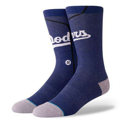 Los Angeles Dodgers Stance MLB Jersey Crew Socks - Blue