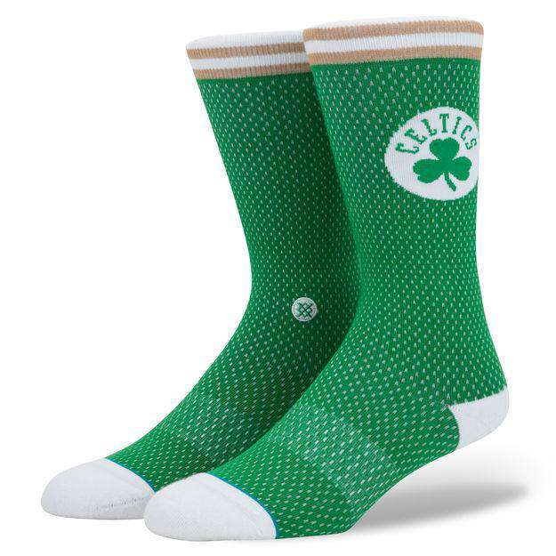 Boston Celtics Stance NBA Jersey Crew Socks - Green