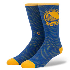 Golden State Warriors Stance NBA Jersey Crew Socks - Blue