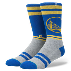 Golden State Warriors Stance NBA City Gym Crew Socks - Blue