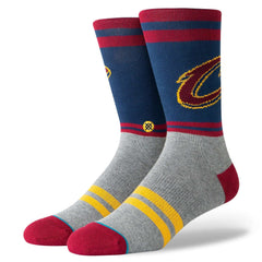 Cleveland Cavaliers Stance NBA City Gym Crew Socks - Navy