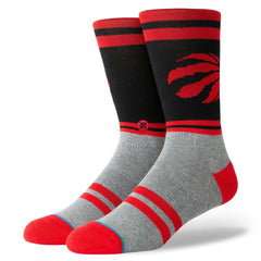 Toronto Raptors Stance NBA City Gym Crew Socks - Black