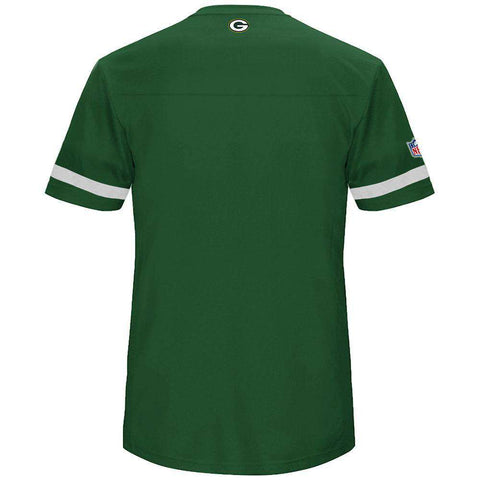 Green Bay Packers Majestic NFL Poly Mesh Jersey Shirt - Green