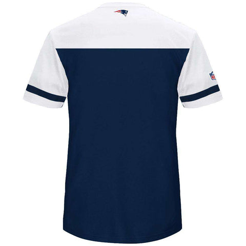 New England Patriots Majestic NFL Poly Mesh Jersey Shirt - Navy