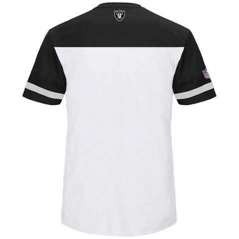 Oakland Raiders Majestic NFL Poly Mesh Jersey Shirt - White