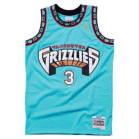 Shareef Abdur-Rahim Vancouver Grizzlies Mitchell & Ness NBA Swingman Jersey - Teal