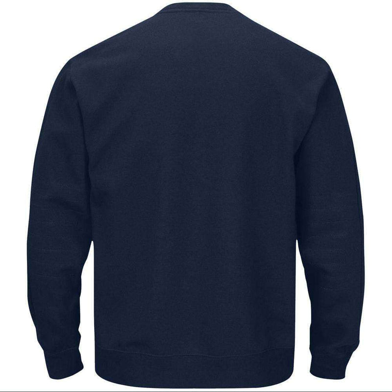 Cleveland Indians Majestic MLB Team Drive Long Sleeve T-Shirt - Navy